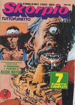 Copertina SKORPIO ANNO  2 n.35 - SKORPIO 1978            35, EDITORIALE AUREA