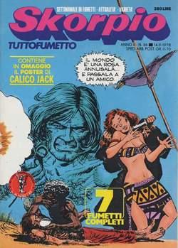 Copertina SKORPIO ANNO  2 n.36 - SKORPIO 1978            36, EDITORIALE AUREA