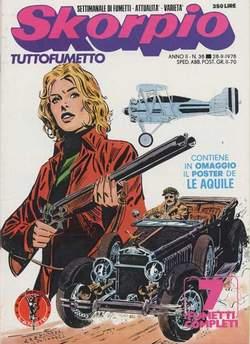 Copertina SKORPIO ANNO  2 n.38 - SKORPIO 1978            38, EDITORIALE AUREA
