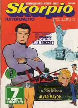 Copertina SKORPIO ANNO  2 n.39 - SKORPIO 1978            39, EDITORIALE AUREA