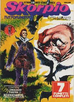 Copertina SKORPIO ANNO  2 n.40 - SKORPIO 1978            40, EDITORIALE AUREA