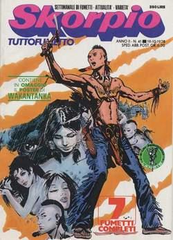Copertina SKORPIO ANNO  2 n.41 - SKORPIO 1978            41, EDITORIALE AUREA