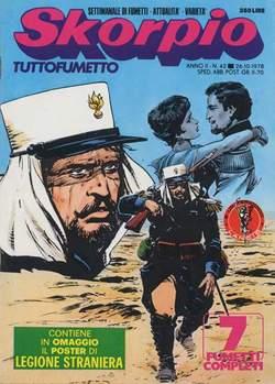 Copertina SKORPIO ANNO  2 n.42 - SKORPIO 1978            42, EDITORIALE AUREA