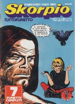 Copertina SKORPIO ANNO  2 n.44 - SKORPIO 1978            44, EDITORIALE AUREA