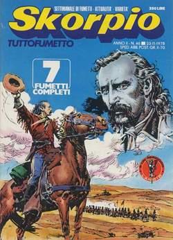 Copertina SKORPIO ANNO  2 n.46 - SKORPIO 1978            46, EDITORIALE AUREA