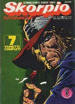 Copertina SKORPIO ANNO  2 n.47 - SKORPIO 1978            47, EDITORIALE AUREA