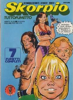 Copertina SKORPIO ANNO  2 n.50 - SKORPIO 1978            50, EDITORIALE AUREA