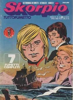Copertina SKORPIO ANNO  2 n.52 - SKORPIO 1978            52, EDITORIALE AUREA