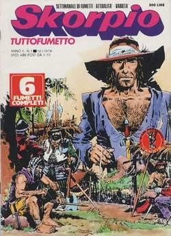 Copertina SKORPIO ANNO  2 n.1 - SKORPIO 1978             1, EDITORIALE AUREA