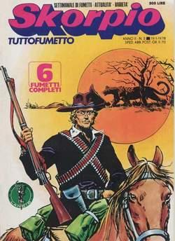 Copertina SKORPIO ANNO  2 n.2 - SKORPIO 1978             2, EDITORIALE AUREA