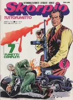 Copertina SKORPIO ANNO  2 n.3 - SKORPIO 1978             3, EDITORIALE AUREA
