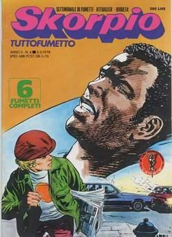 Copertina SKORPIO ANNO  2 n.4 - SKORPIO 1978             4, EDITORIALE AUREA