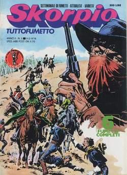 Copertina SKORPIO ANNO  2 n.5 - SKORPIO 1978             5, EDITORIALE AUREA
