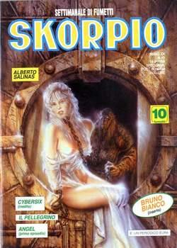 Copertina SKORPIO ANNO 20 n.10 - SKORPIO 1996            10, EDITORIALE AUREA