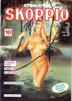 Copertina SKORPIO ANNO 20 n.14 - SKORPIO 1996            14, EDITORIALE AUREA