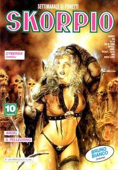 Copertina SKORPIO ANNO 20 n.16 - SKORPIO 1996            16, EDITORIALE AUREA