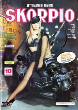 Copertina SKORPIO ANNO 20 n.21 - SKORPIO 1996            21, EDITORIALE AUREA