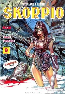 Copertina SKORPIO ANNO 20 n.24 - SKORPIO 1996            24, EDITORIALE AUREA