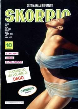 Copertina SKORPIO ANNO 20 n.26 - SKORPIO 1996            26, EDITORIALE AUREA