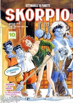 Copertina SKORPIO ANNO 20 n.27 - SKORPIO 1996            27, EDITORIALE AUREA