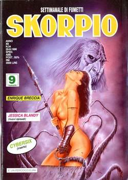 Copertina SKORPIO ANNO 20 n.34 - SKORPIO 1996            34, EDITORIALE AUREA