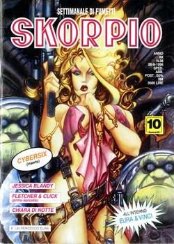 Copertina SKORPIO ANNO 20 n.38 - SKORPIO 1996            38, EDITORIALE AUREA