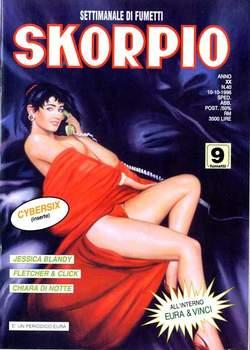 Copertina SKORPIO ANNO 20 n.40 - SKORPIO 1996            40, EDITORIALE AUREA