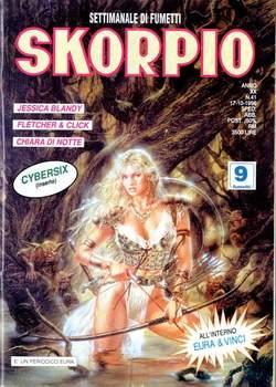 Copertina SKORPIO ANNO 20 n.41 - SKORPIO 1996            41, EDITORIALE AUREA