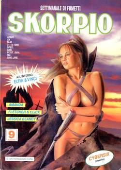 Copertina SKORPIO ANNO 20 n.43 - SKORPIO 1996            43, EDITORIALE AUREA