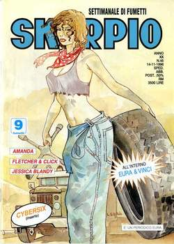 Copertina SKORPIO ANNO 20 n.45 - SKORPIO 1996            45, EDITORIALE AUREA