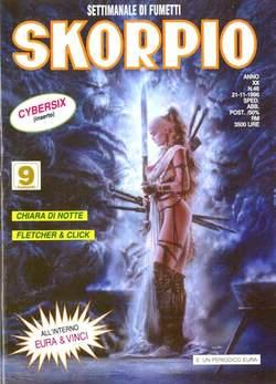Copertina SKORPIO ANNO 20 n.46 - SKORPIO 1996            46, EDITORIALE AUREA