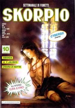 Copertina SKORPIO ANNO 20 n.49 - SKORPIO 1996            49, EDITORIALE AUREA