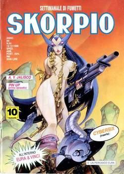 Copertina SKORPIO ANNO 20 n.50 - SKORPIO 1996            50, EDITORIALE AUREA