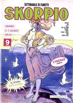 Copertina SKORPIO ANNO 20 n.51 - SKORPIO 1996            51, EDITORIALE AUREA