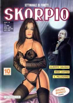 Copertina SKORPIO ANNO 20 n.4 - SKORPIO 1996             4, EDITORIALE AUREA