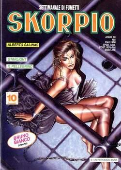 Copertina SKORPIO ANNO 20 n.8 - SKORPIO 1996             8, EDITORIALE AUREA