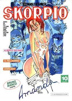 Copertina SKORPIO ANNO 20 n.9 - SKORPIO 1996             9, EDITORIALE AUREA