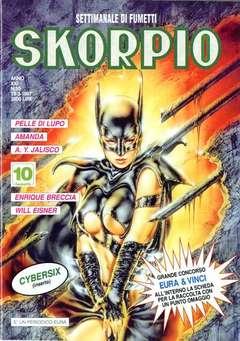 Copertina SKORPIO ANNO 21 n.10 - SKORPIO 1997            10, EDITORIALE AUREA
