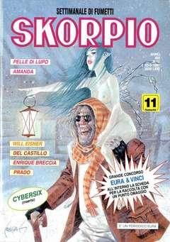 Copertina SKORPIO ANNO 21 n.11 - SKORPIO 1997            11, EDITORIALE AUREA