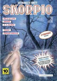 Copertina SKORPIO ANNO 21 n.13 - SKORPIO 1997            13, EDITORIALE AUREA