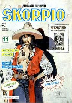 Copertina SKORPIO ANNO 21 n.14 - SKORPIO 1997            14, EDITORIALE AUREA