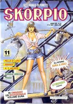Copertina SKORPIO ANNO 21 n.15 - SKORPIO 1997            15, EDITORIALE AUREA
