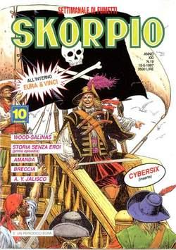 Copertina SKORPIO ANNO 21 n.19 - SKORPIO 1997            19, EDITORIALE AUREA