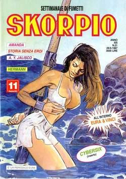 Copertina SKORPIO ANNO 21 n.21 - SKORPIO 1997            21, EDITORIALE AUREA