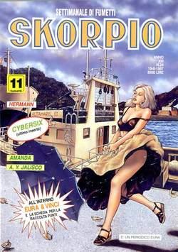 Copertina SKORPIO ANNO 21 n.24 - SKORPIO 1997            24, EDITORIALE AUREA