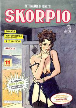 Copertina SKORPIO ANNO 21 n.26 - SKORPIO 1997            26, EDITORIALE AUREA