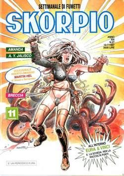Copertina SKORPIO ANNO 21 n.27 - SKORPIO 1997            27, EDITORIALE AUREA
