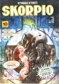Copertina SKORPIO ANNO 21 n.28 - SKORPIO 1997            28, EDITORIALE AUREA