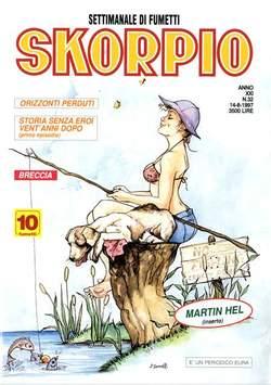Copertina SKORPIO ANNO 21 n.32 - SKORPIO 1997            32, EDITORIALE AUREA