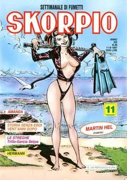 Copertina SKORPIO ANNO 21 n.36 - SKORPIO 1997            36, EDITORIALE AUREA